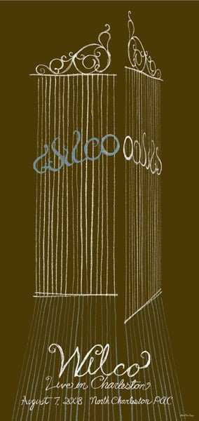 wilco-2008-08-07-poster