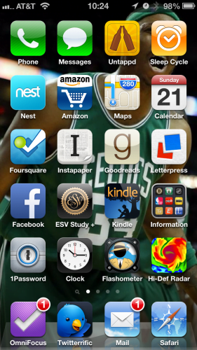iOS Home Screen 2013-04-21